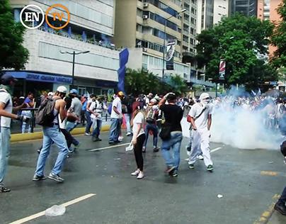2017 Riots in Caracas, Venezuela