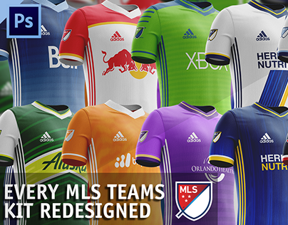 MLS Kits Redesigned (2017)