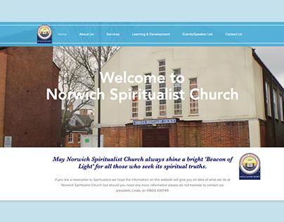 Norwich Spiritualist Church Redesign