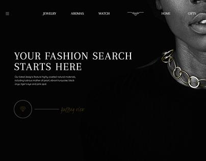 Golden Fleece website concept