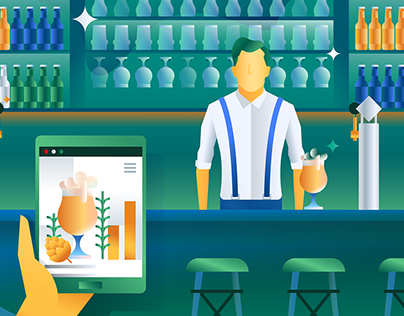 Heineken — Illustrations