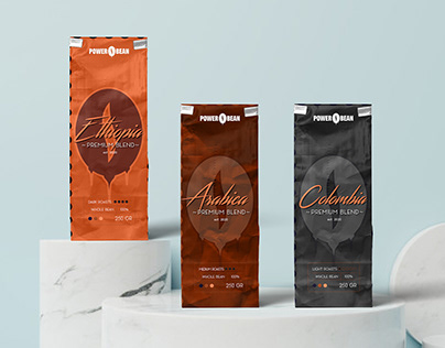Power Bean - Coffee Branding