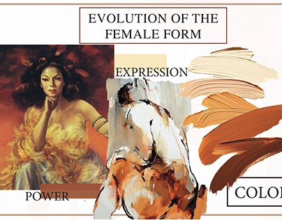 Intro to Fashion Design - Evolution of the Femele Form