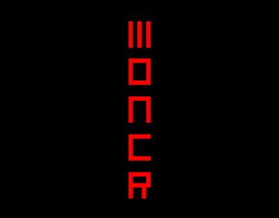 Moncr - free font