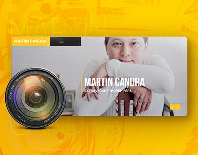 Martin Candra Website