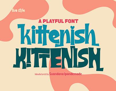 Kittenish - Playful Font