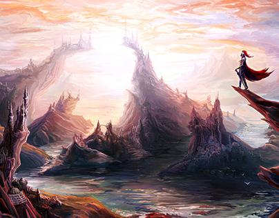 Fantasy Illustrations & Maps