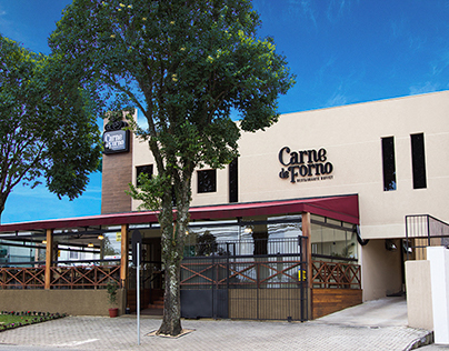 Fotografia de Fachada - Restaurante Carne de Forno