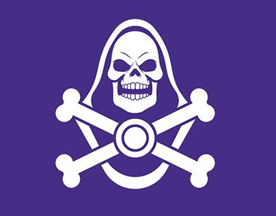 Skeletor and Hordak Illustration Logos