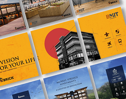 Brick Investments - Social Media Design