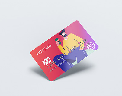 A credit card concept for our friends of HNT