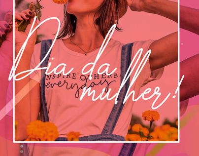 Social Mídia dia da Mulher