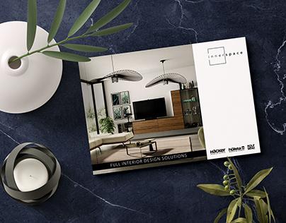 Brochure Design - Innerspace, Dubai, UAE