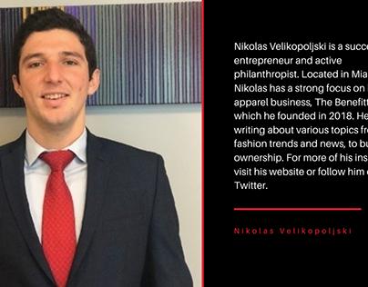 Nikolas Velikopoljski Bio Card