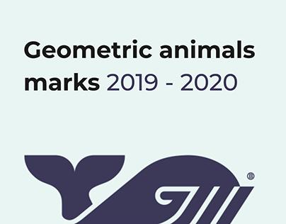 Geometric animals marks