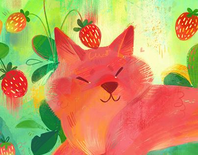 Strawberry Dog