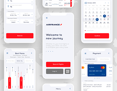 Airfrance Concept Redesign