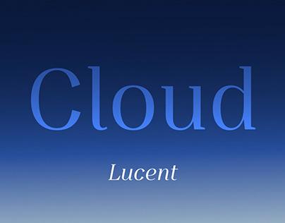 Cloud Lucent (Free Font)