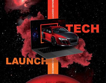 Launch Tech - Branding & E-Commerce Design