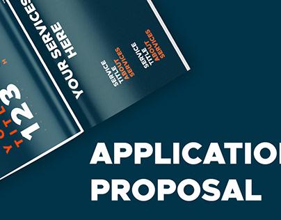 Proposal Design | Editorial Design | Mobile Application