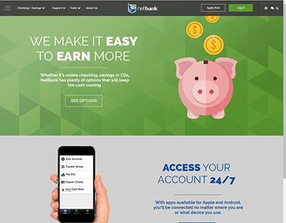 NetBank Website Redesign