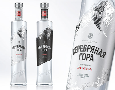 "Vodka ""Silver Mountain"""