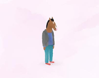 Lost | Digital Art - Watercolor Style - TV Character