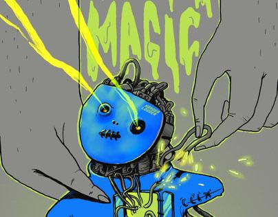 Cover HLTD-Deck Disorder - Dark Magic EP
