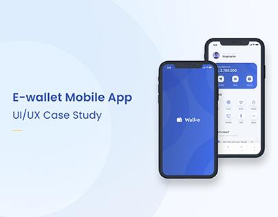 [Wall-e] E-wallet Mobile App