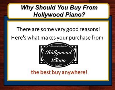 Sales Presentation/SlideShow - Hollywood Piano...