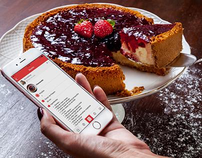 Mynu App. - Cheesecake