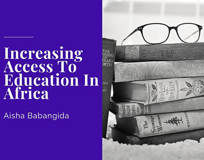 Increasing Access To Education In Africa
