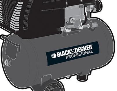 Black & Decker Illustration
