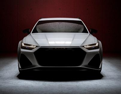 2020 AUDI RS6 | LIGHT ROOM | FULL CGI