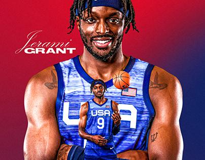 JERAMI GRANT X USA BASKETBALL