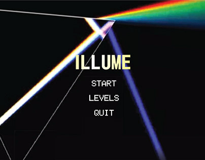 Illume - a puzzle game based on light