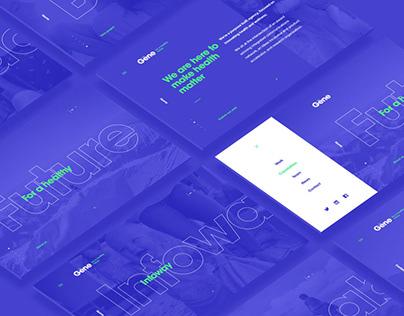Gene Brand & Website