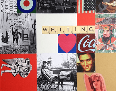Peter Blake Inspired Collage @ Pallant House Workshop