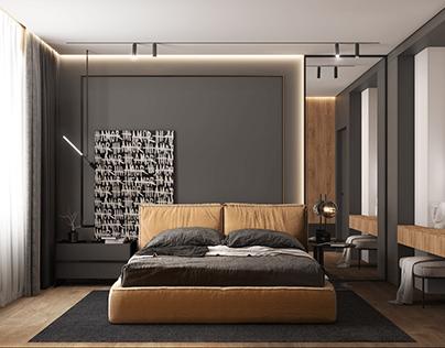 Modern Apartment Yekaterinburg (bedroom)