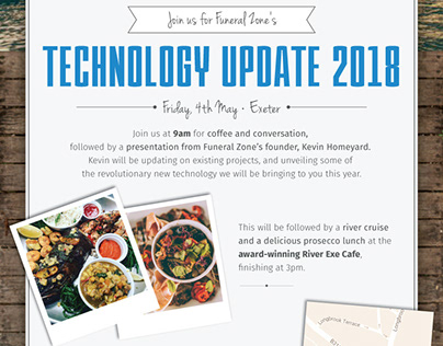 Technology Event Invitations