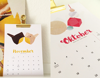 Pretty Things 2016 Calendar / Schöne Dinge 2016