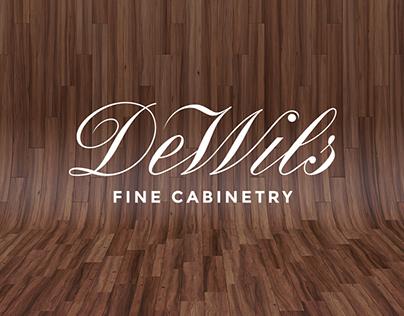 DEWILS CABINETRY // Website Design