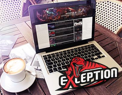 eXception   Re-design