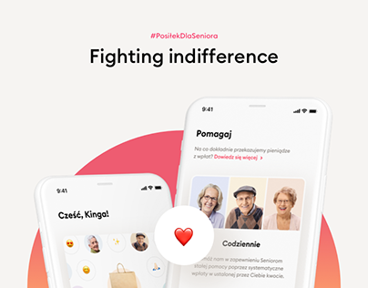 #PosiłekDlaSeniora – Fighting indifference