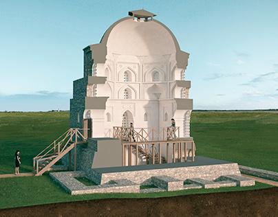 Reconstruction of the black chamber. Bolgar