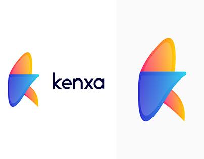 Modern K Letter Logo Design|Lettermark Logo