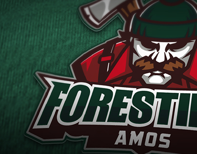 Sports Logo Design - Forestiers d'Amos