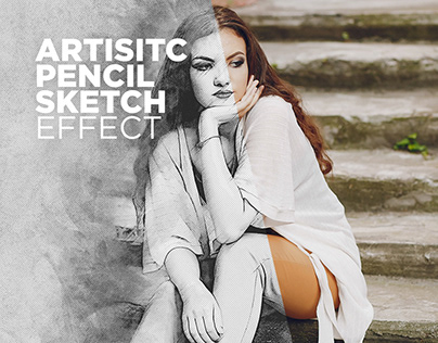 Photoshop Actions Free Artistic Pencil Sketch Effect #1