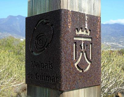 Señalización Rural del Malpaís de Güimar