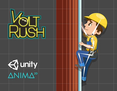 Animation Process / VoltRush Mobile Game